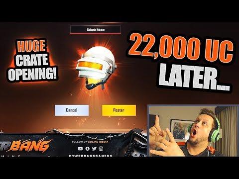 HUGE PREMIUM CRATE OPENING 🎁 22,000+ UC 💰 PUBG Mobile