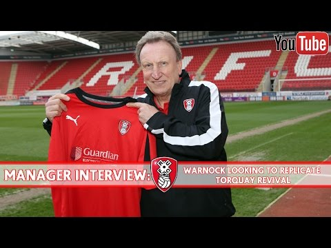 Warnock looking to replicate Torquay United revival