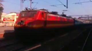Hubli superfast rushing to kollam junction