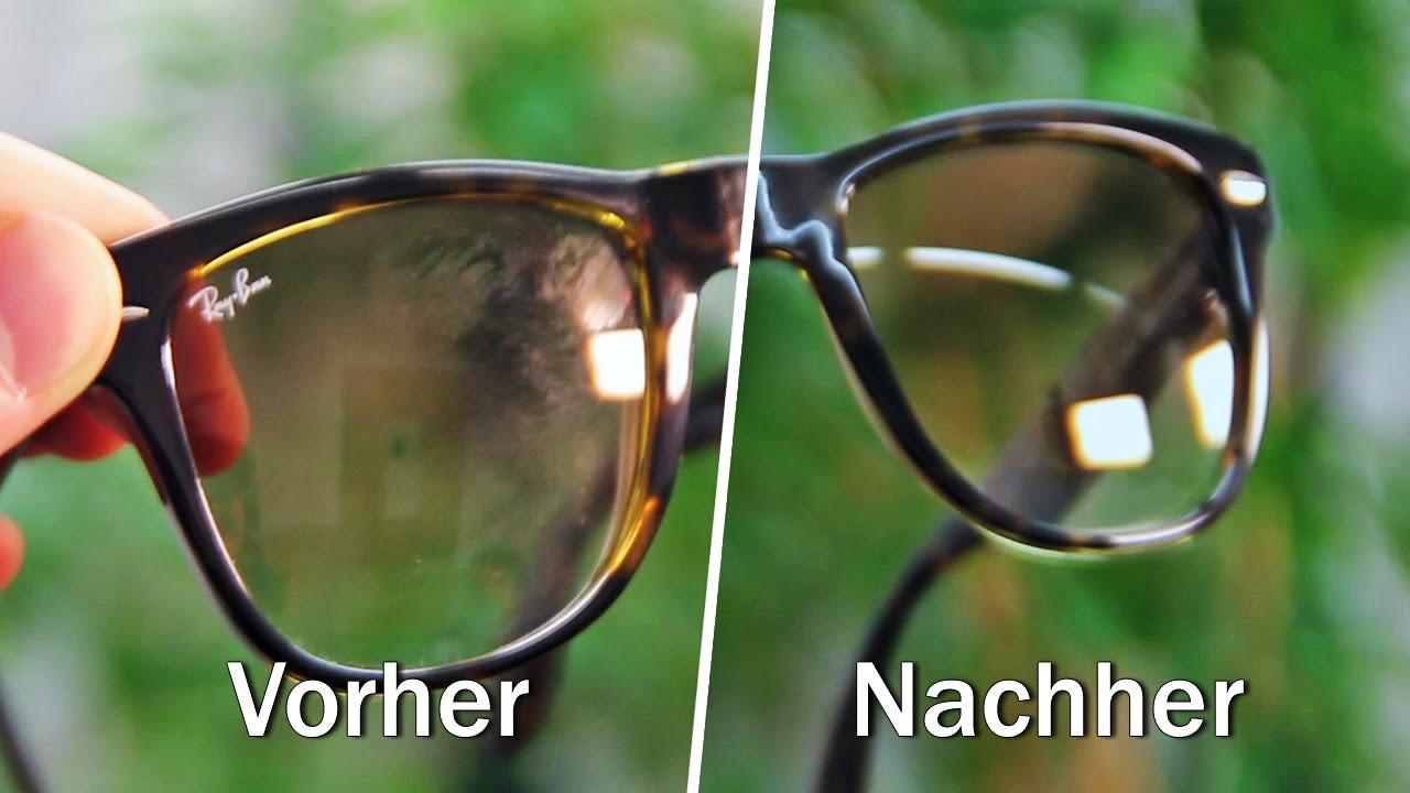 ray ban brille putzen