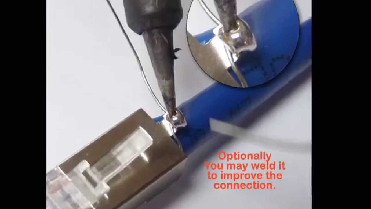 Terminate CAT6 & 6A plug (Shielded) . LanPro make it easier !! - YouTube