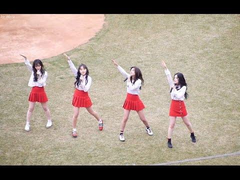 170404 레드벨벳 (Red Velvet) 루키 (Rookie) [전체] 직캠 Fancam (광주기아챔피언스필드개막전) by Mera