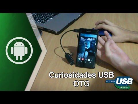 Curiosidades del cable USB OTG en Android (USB On-The-Go)