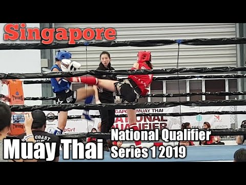 Singapore Muay Thai National Qualifier Series 1 - 2019