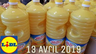 ARRIVAGE LIDL - 13 AVRIL 2019
