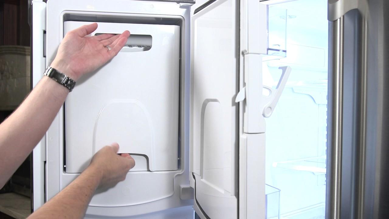 Removing Ice Bucket French Door Bottom Freezer
