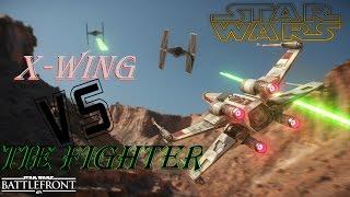 Star Wars: Battlefront [X-WING Vs. TIE FIGHTER] GAMEPLAY!