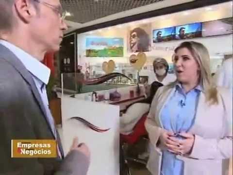 Reportagem PEGN (Rede Globo) com Luzia ...