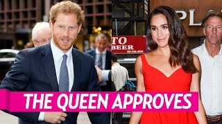 Queen Elizabeth II is 'Fully Supportive' of Prince Harry's Romance With Meghan Markle
