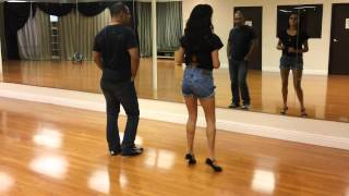 Gambar cover How Bachata is Danced Part 2 (Side to Side Steps)