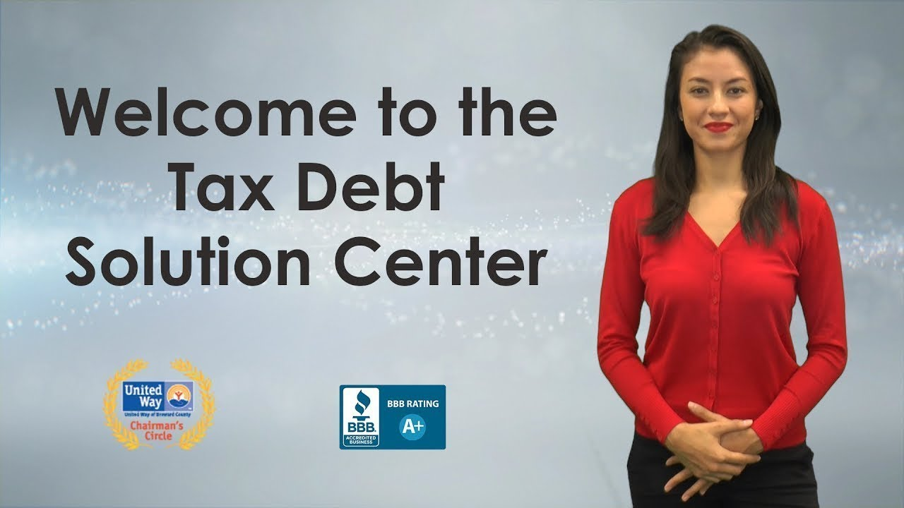 tax debt solutions for irs debt and state back taxes - debt