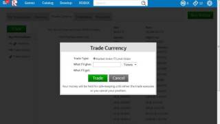roblox how to get ur tix back from the trade curreny glitch