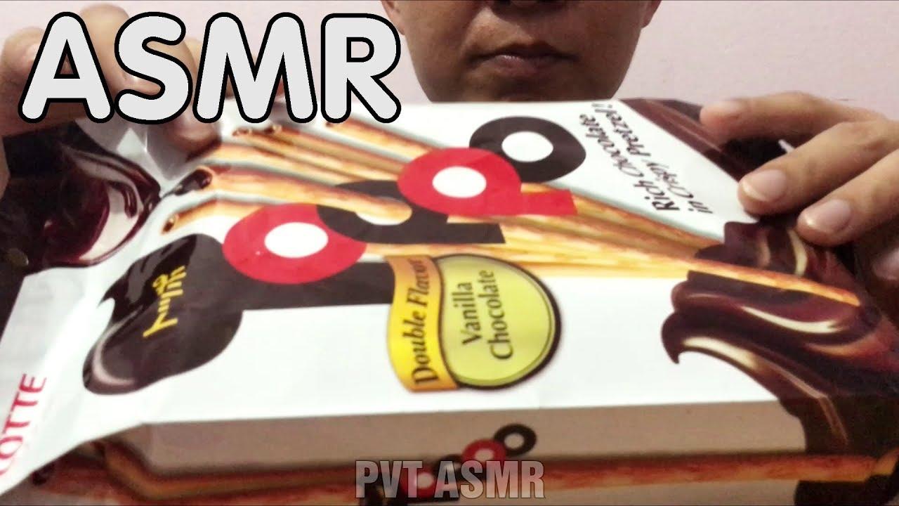 ASMR 🎧 Bánh Que Lotte TOPPO Nhân Socola (Eating Sounds) | Mukbang Show | PVT ASMR