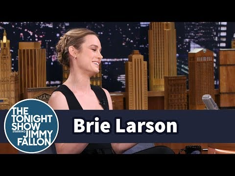 Brie Larson's Career Kicked Off with a Sketch for Jay Leno's Tonight