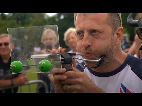 شاهد: بطولة العالم لقذف حبات البازلاء في بريطانيا  - 11:54-2019 / 7 / 17