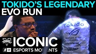 ICONIC Esports Moments: Tokido's Legendary Run at EVO 2017 (FGC)
