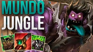 Dr. Mundo Jungle Gameplay - Patch 9.19 (League of Legends Gameplay)