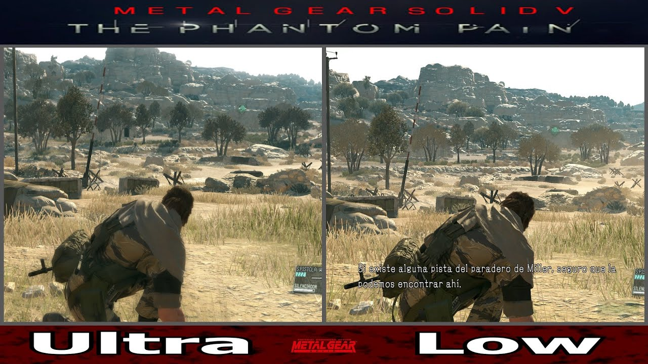 Ultra VS Low Graphics Comparation PC