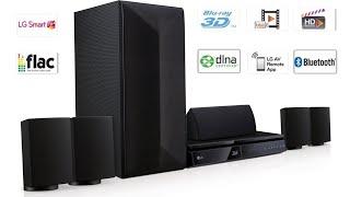 LG LHB625 Home Cinema 3D Blu-ray UNBOXING