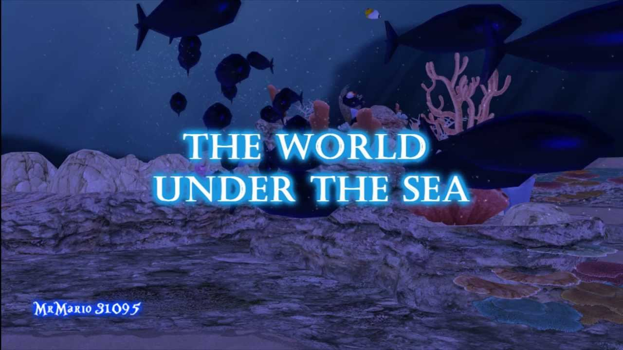 Mmd The World Under The Sea Mro Hln And Tm2 The Little