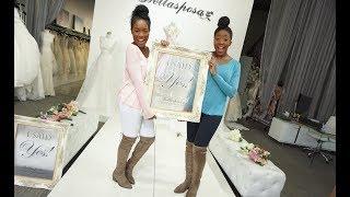 Wedding Vlog: Wedding Dress Shopping || Bride-to-Be