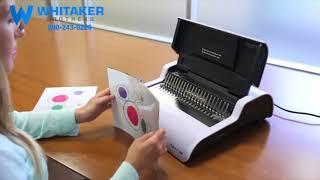 Fellowes Pulsar E 300 Comb Binding Machine