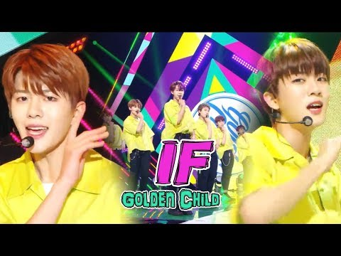 [HOT]GOLDEN CHILD - IF, 골든차일드 - IF Show Music core 20180818