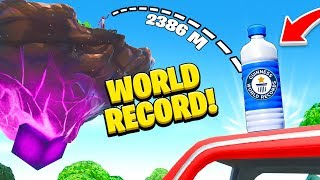 Top 10 CRAZIEST Fortnite World Records OF 2019!
