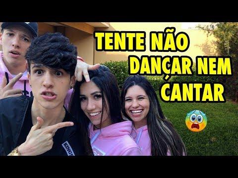TENTE NÃO CANTAR E NEM DANÇAR 2!! (Ft. Maria Venture, Fuinha, Carolinne Silver)