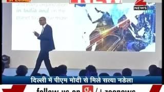 Microsoft CEO 'Satya Nadela' poetry temperament