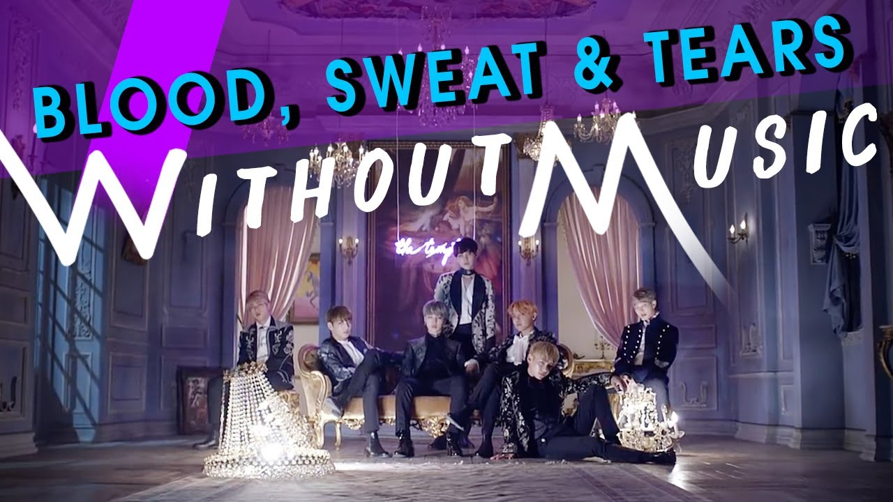 BTS - Blood Sweat & Tears (#WITHOUTMUSIC parody)