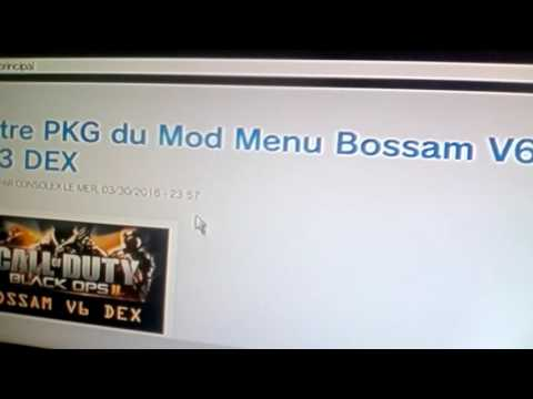 Comment installer un mod menu bo2 sans pc