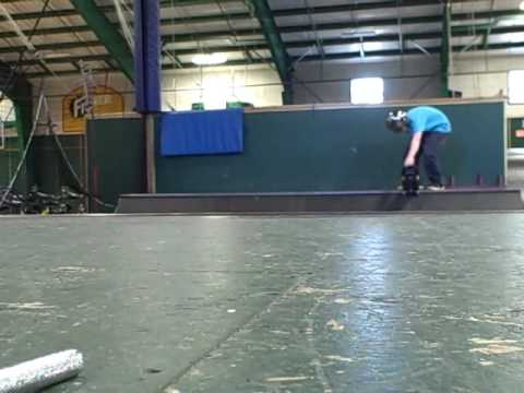 Me Skateboarding at the anti gravity center
