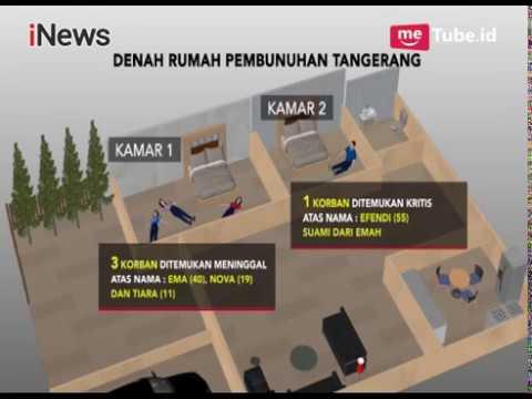 Berikut Denah Rumah saat Penemuan Jasad Satu Keluarga yang Dibunuh Secara Sadis - iNews Pagi 13/02