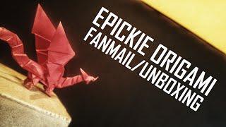 ORIGAMI GENIUSZA | FANMAIL | UNBOXING #45