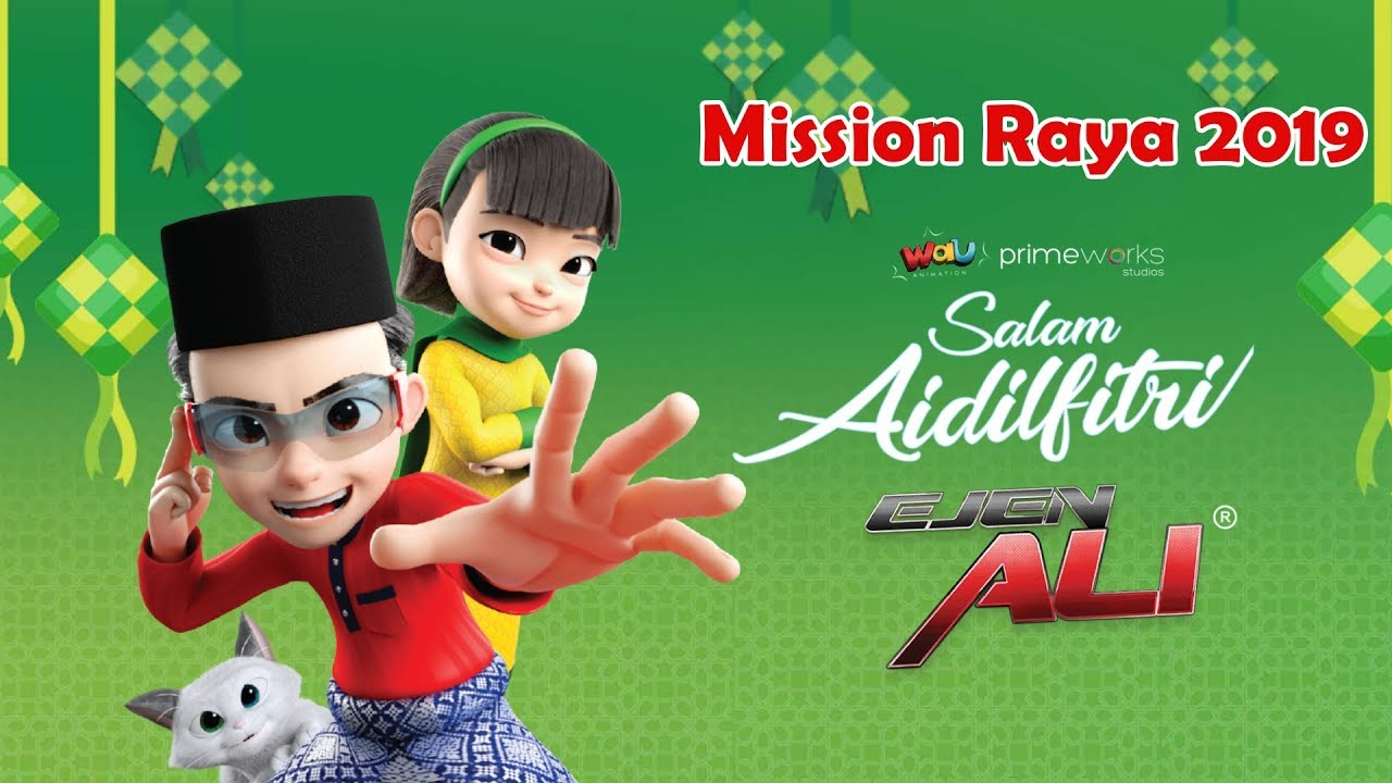 Download Ejen Ali Emergency : Mission Raya 2019 - Gameplay Walkthrough