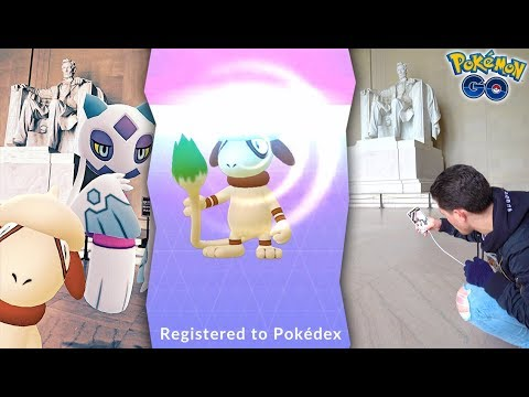 THE COOLEST SMEARGLE PHOTOBOMB EVER IN POKÉMON GO! thumbnail