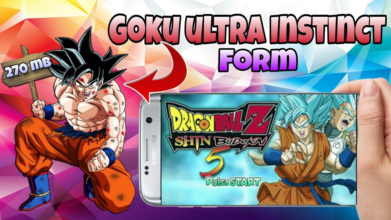 Dragon Ball Z Shin Budokai 5 Goku Ultra Instinct - TechKnow Infinity
