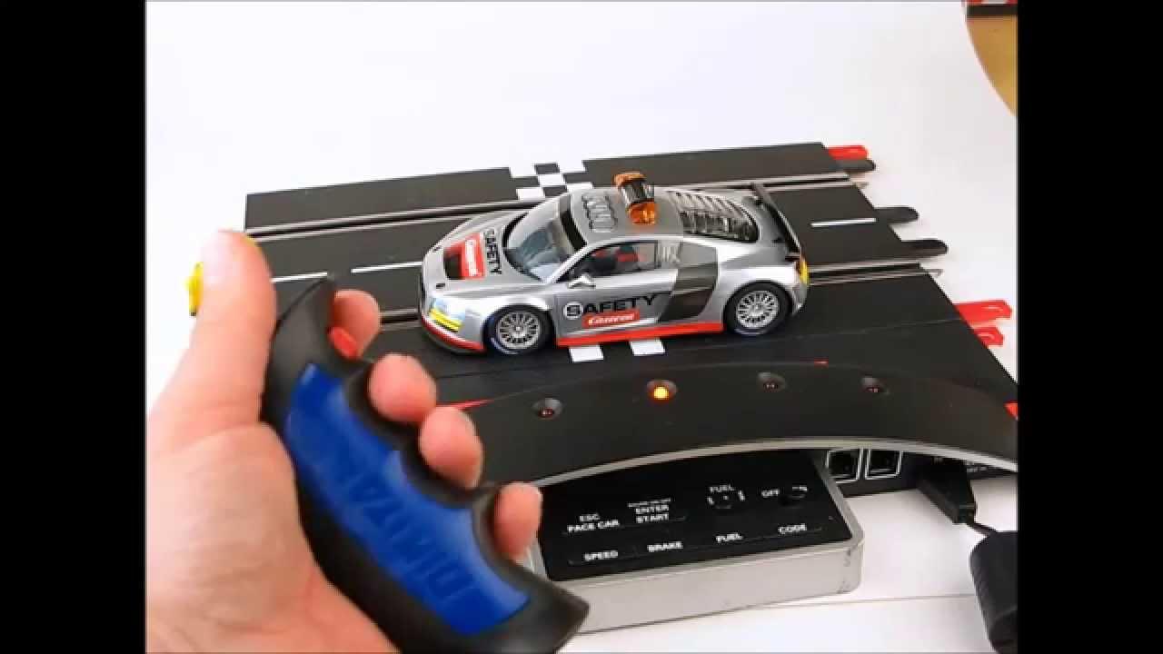Slot car lights