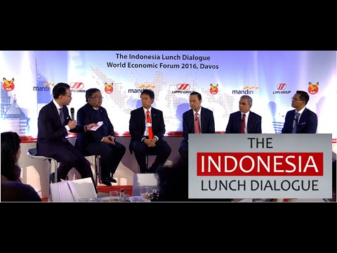 [Highlights] Indonesia Lunch Dialogue @ World Economic Forum Davos 2016: Investment