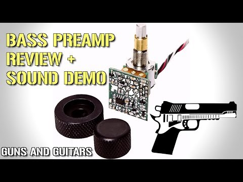 Seymour Duncan/Basslines STC-2C-BO Blackouts Bass preamp FULL REVIEW AND SOUND DEMO