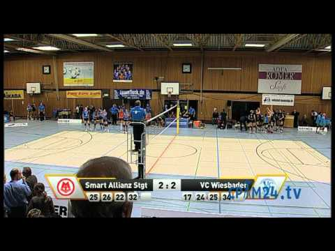 Volleyball Smart Allianz Stuttgart - VC Wiesbaden Teil 9