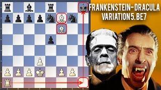 Monster Declined Frankenstein Dracula Variation 5...Be7 | Riho Liiva vs Romanas Skrebnevskis