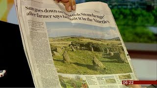 (Fun story) Excitement over new ancient stone circle (Scotland) - BBC News - 22nd January 2019