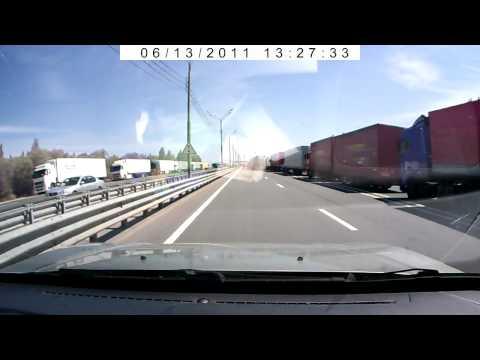 Проезд границы из Белоруссии в Россию