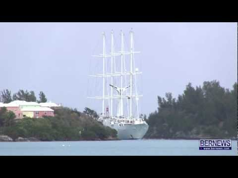 Wind Star Arrives In St George's On Apr 7 2013