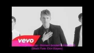 Danny Saucedo - Brinner i bröstet ft. Malcolm B Block Flute Cover