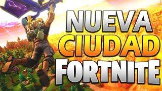 YA ESTA AQUÍ EL NUEVO MAPA EN FORTNITE BATTLE ROYALE!!!