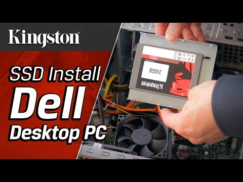 how to install ssd drive in desktop
