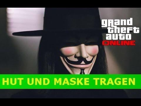 GTA 5: Online | Wie Mann Maske und Hut | Gleichzeitg Tagen kann | PATCH 1.12